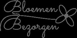 Bloemenbezorgen logo zwart