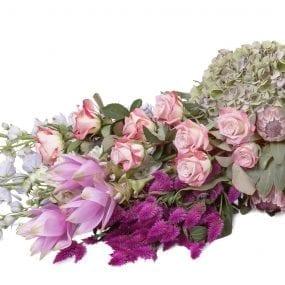 Rouwstukken rouwboeket vijf