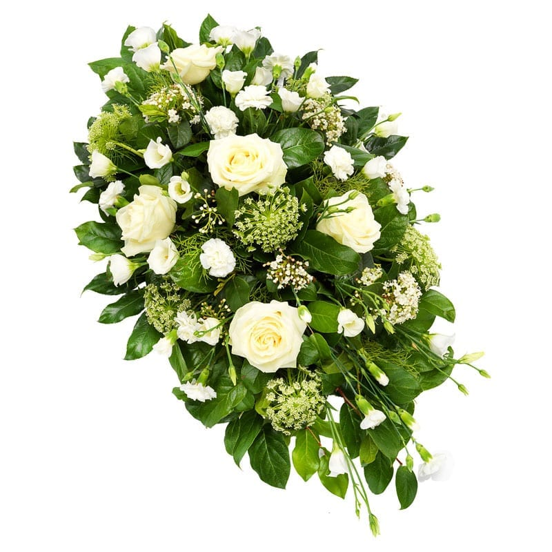 Wit rouwstuk